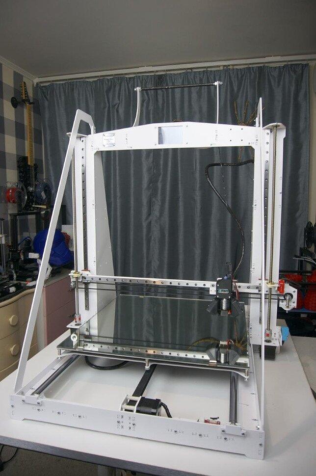 Обзор 3д-принтера Geralkom-3D Prusa i3 Steel Pro 450 - огромная пруса